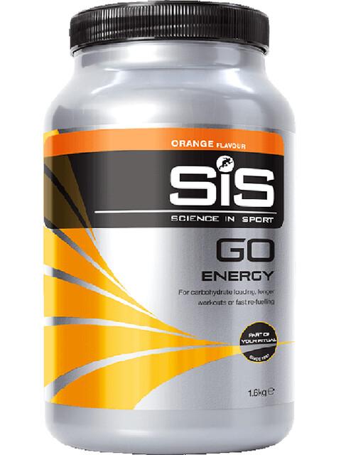 SiS GO Energy Drink Dose 1,6kg Orange